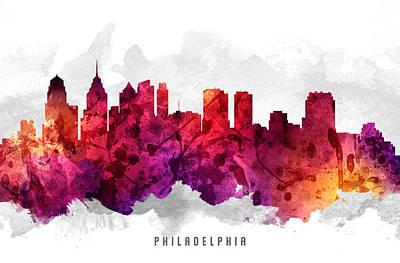 Philadelphia Pennsylvania Cityscape 14 Poster
