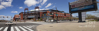 Philadelphia Phillies' Citizens Bank Park - Panoramic Poster by Anthony Totah