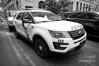 Philadelphia Police Ford Interceptor Utility Patrol Car Vehicle Usa Poster