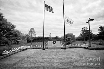 Philadelphia Republic Of South Vietnam Freedom And Heritage Flag Monument Memorial Usa Poster