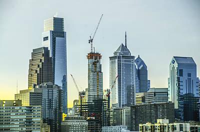 Philadelphia - Still Growing Poster by Bill Cannon