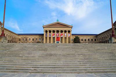 Philadelphia - The Rocky Steps Poster by Bill Cannon
