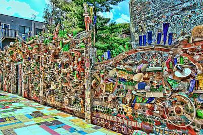 Philadelphia's Magic Gardens 3 Poster by Allen Beatty