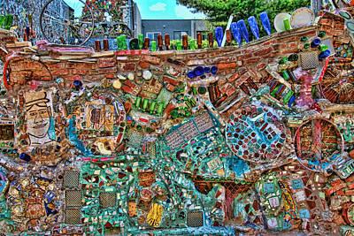 Philadelphia's Magic Gardens Poster by Allen Beatty