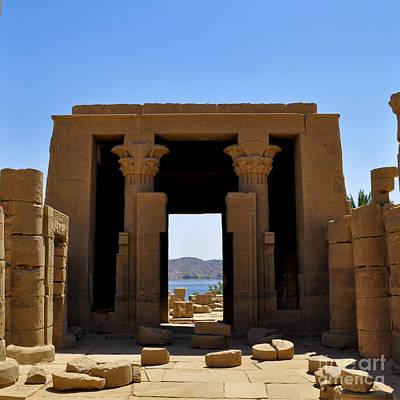 Philae Temple Poster