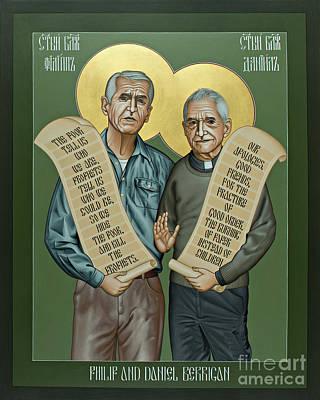 Philip And Daniel Berrigan Poster
