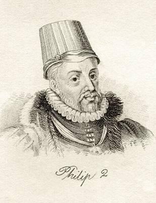Philip II 1527-1598 King Of Spain Poster