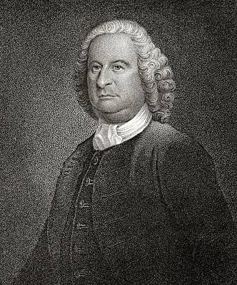 Philip Livingston 1716 To 1778 American Poster