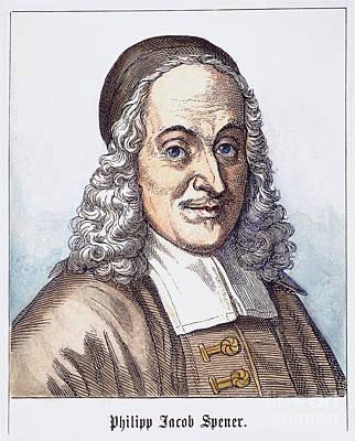 Philipp J. Spener (1635-1705) Poster by Granger