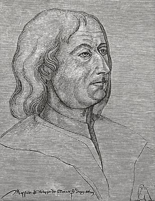 Philippe De Commines Or De Commynes Poster