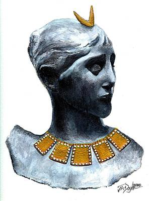 Phoenician Beauty Poster