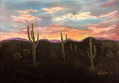 Phoenix Az Sunset Poster