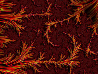 Phoenix Poster by Darren Hayes