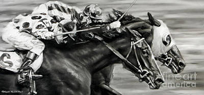 Photo Finish Poster by Thomas Allen Pauly