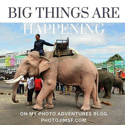 Poster featuring the photograph #photoadventure #travel #thailand by Mr Photojimsf