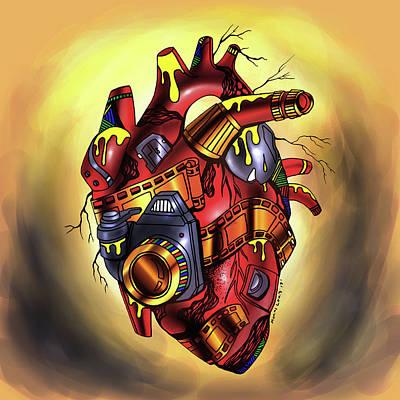 Photographer's Heart Poster