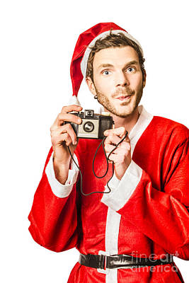 Photos With Santa Poster by Jorgo Photography - Wall Art Gallery