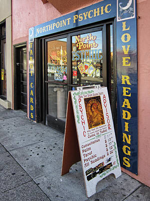 Phychic Love Readings - San Francisco Poster by Daniel Hagerman
