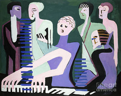 Pianist Poster by Celestial Images