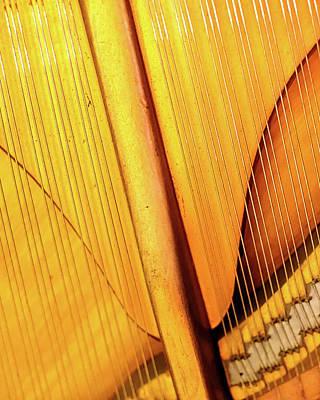 Piano 3 Poster by Rebecca Cozart