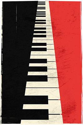 Piano Keys Poster