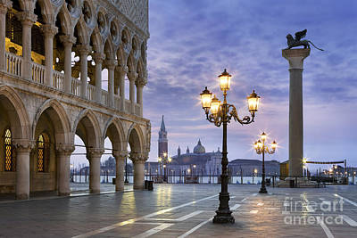 Piazza San Marco - Venice Poster by Rod McLean