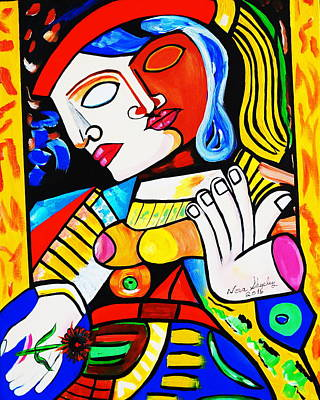 Picasso By Nora Turkish Man Poster