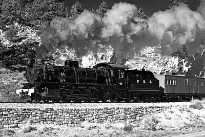 Poster featuring the photograph Pichi Richi Railwaytrain by Bill  Robinson