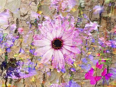 Poster featuring the photograph Pickin Wildflowers by Amanda Eberly-Kudamik