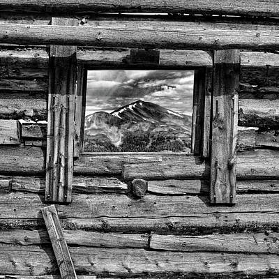 Poster featuring the photograph Picture Window #3 by Eric Glaser