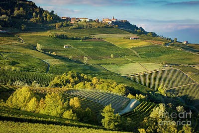 Poster featuring the photograph Piemonte Countryside by Brian Jannsen