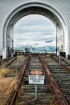 Pier 43 Ferry Arch San Francisco California Poster by Mary Lee Dereske