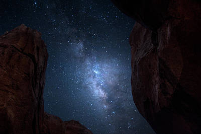 Pike National Forest Milky Way Poster