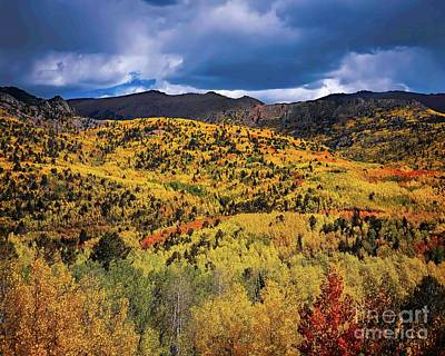Pikes Peak Autumn Poster