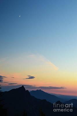 Pilchuck Sunset Poster