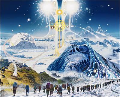 Pilgrimage Of The Lunatics Poster