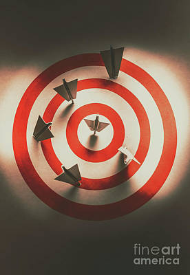 Pin Point Your Target Audience Poster by Jorgo Photography - Wall Art Gallery