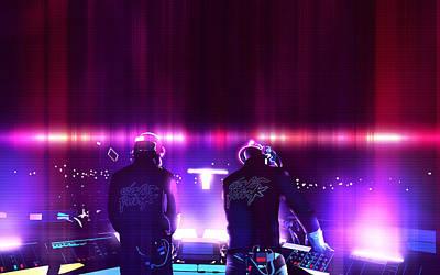 Pink Daft Punk - 61 Poster