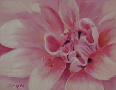 Pink Dahlia II Poster