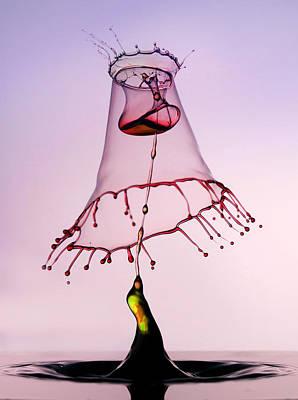 Pink Hood Poster by Jaroslaw Blaminsky