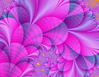 Pink Petals Poster by Regina Rodella