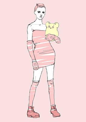 Pink Punk Poster