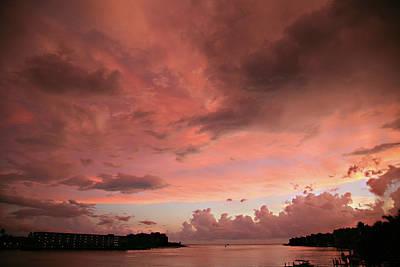 Pink Sky At Night Poster