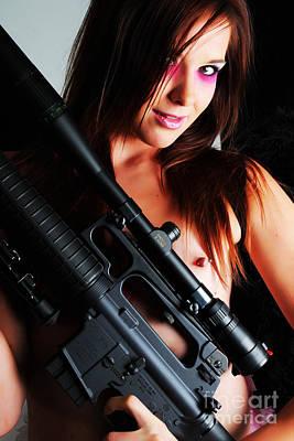 Pink Sniper Poster