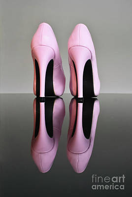 Pink Stilettos Poster by Terri Waters