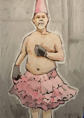 Pink Tutu Poster by H James Hoff