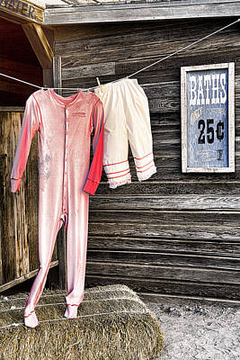 Pink Undies Poster by Wendy White