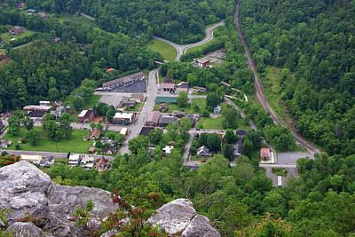 Pinnacle Overlook In Kentucky Poster