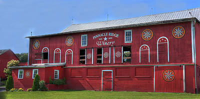 Pinnacle Ridge Winery Poster