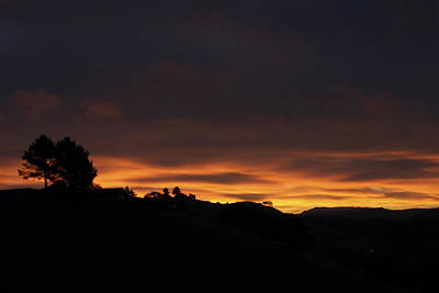 Pinole Valley At Dawn Poster